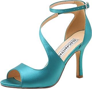 Scarpe Da Sposa Verde Tiffany.Amazon It Scarpe Da Sposa Verde Scarpe E Borse