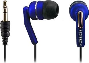 Sentry Neons Stereo Earbuds, HO622, Blue