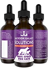 Jackson Galaxy: Safe Space for Cats (2 oz.) - Cat Solution - Promotes Territorial Sanctity and Self-Confidence - Can Reduce Spraying, Scratching, Fighting - All-Natural Formula - Reiki Energy