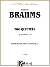 Two Quintets, Op. 88 and 111: String Quintet (Kalmus Edition)