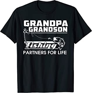Best grandpa and grandson fishing shirts Reviews