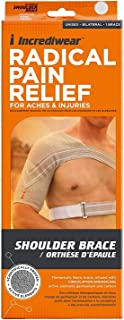 Incrediwear Therapeutic Bilateral Fabric Shoulder Brace Sz: M (11-13 Inches)