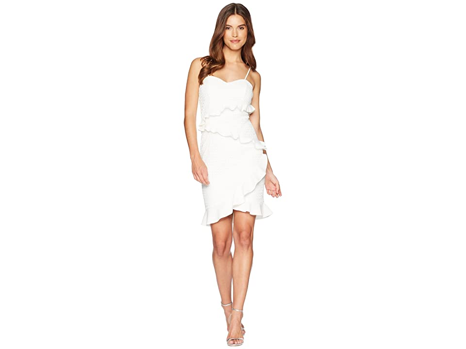 Bardot Fae Lace Dress (Ivory) Women