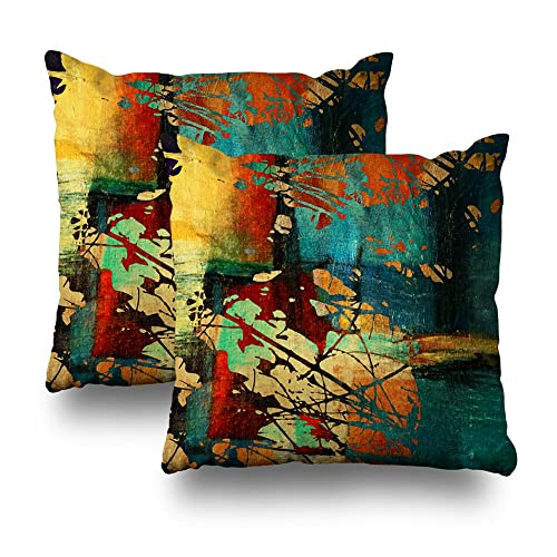 Decorative Red And Green Throw Pillows Amazoncom
