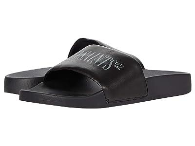 AllSaints Bracket Pool Slide (Black) Men