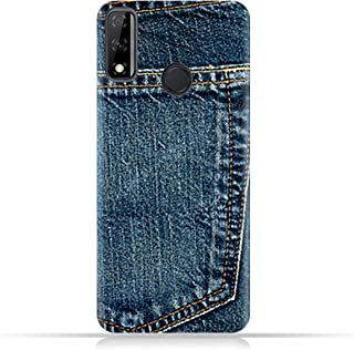 AMC Design Huawei Y8s TPU Silicone Case with Jeans Pocket Pattern