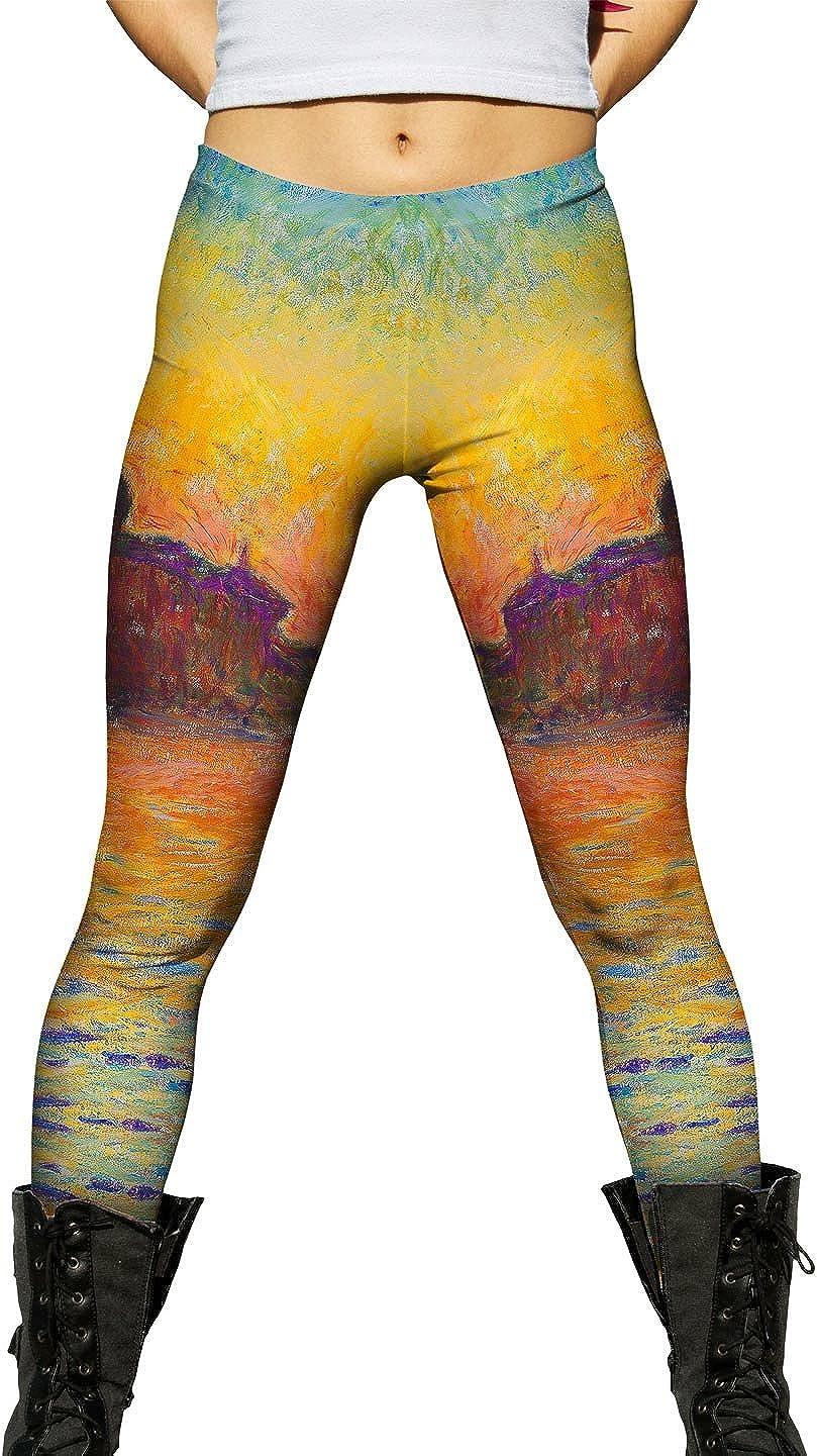 Yizzam- Claude Monet - Venice Womens Branded goods Leggin List price Twilight Ladies -New