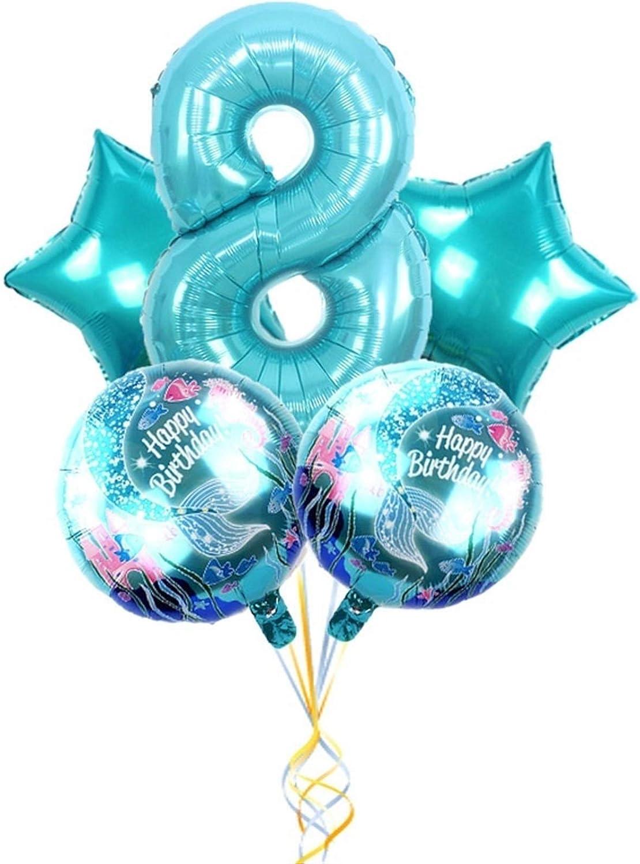 JZYZSNLB Balloon Award Digital Set Birthday OFFer Anniversary Party