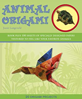 Animal Origami: 20 Origami Projects (Origami Books)