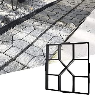 Stageya Path Maker Paving Mould DIY Reusable Patio Concrete Paving Garden Path Molds,15.75x 15.75