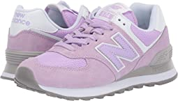 detailed look 4c330 88128 New balance classics 574 core plus blue pink + FREE SHIPPING ...