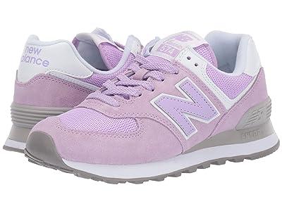 New Balance Classics 574v2 (Violet Glo/White) Women