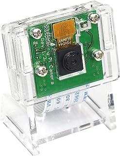 Raspberry Piカメラモジュール ラズベリーパイ カメラ 500W画素 感光チップ OV5647センサー ケース付き Raspberry Pi 4 model b, 3 Model b+, Pi 3b, Pi Zero, Pi Zero...