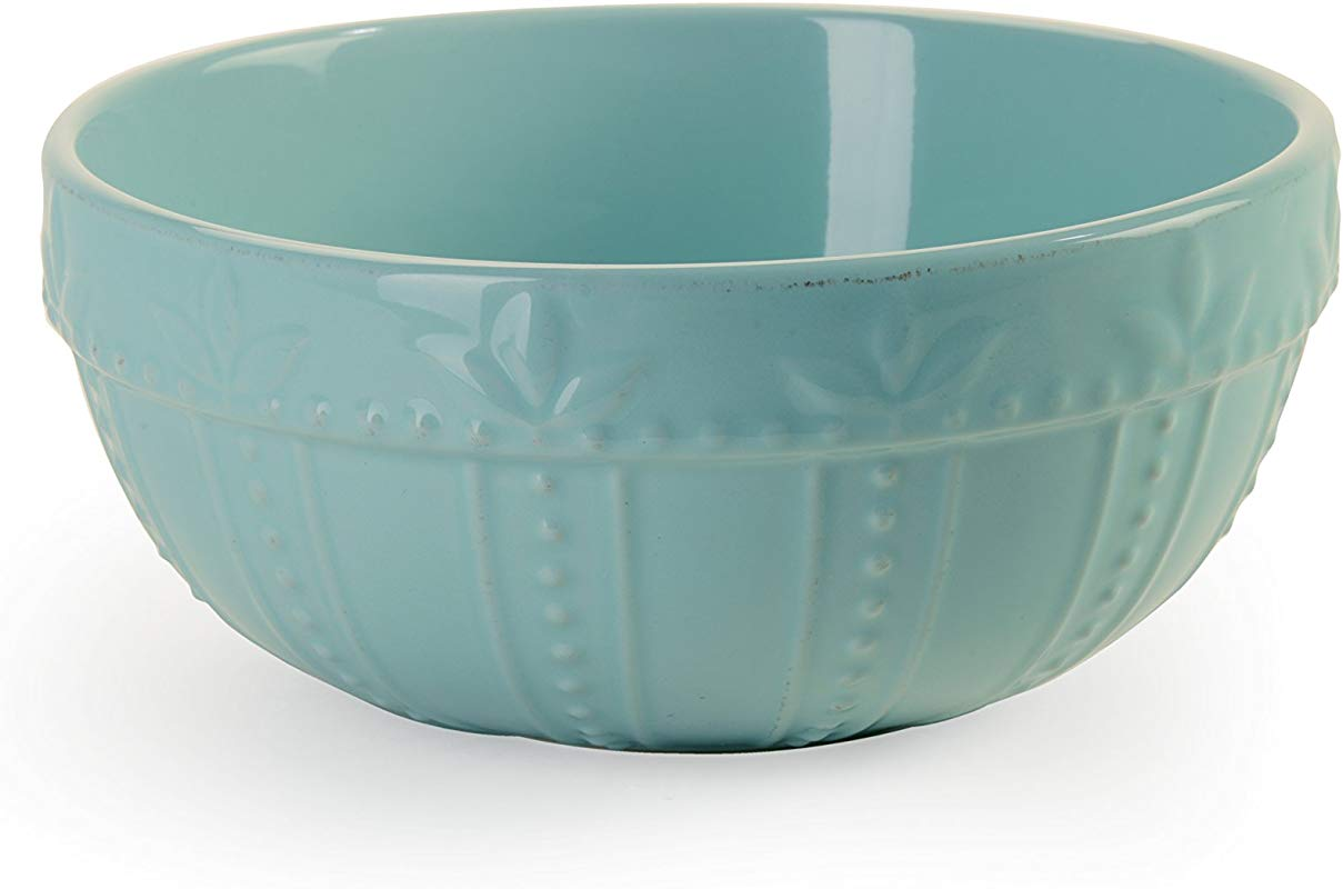 Signature Housewares Sorrento Collection Set Of 2 Mixing Bowls 8 Inch And 9 Inch Aqua