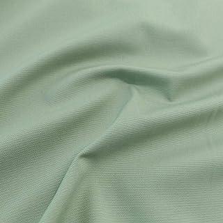 TOLKO Baumwollstoff Meterware mit Polyester | Mittelschwerer Canvas Segeltuch Stoff als Stabiler und Reißfester Polster Möbelstoff zum Nähen und Beziehen Khaki Grün