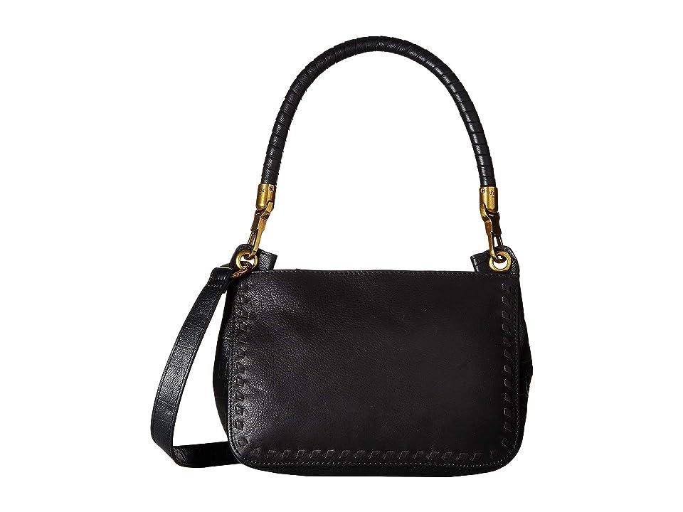 The Sak Estrada Three-Way Top Zip by the Sak Collective (Black Block) Top-Zip Handbags