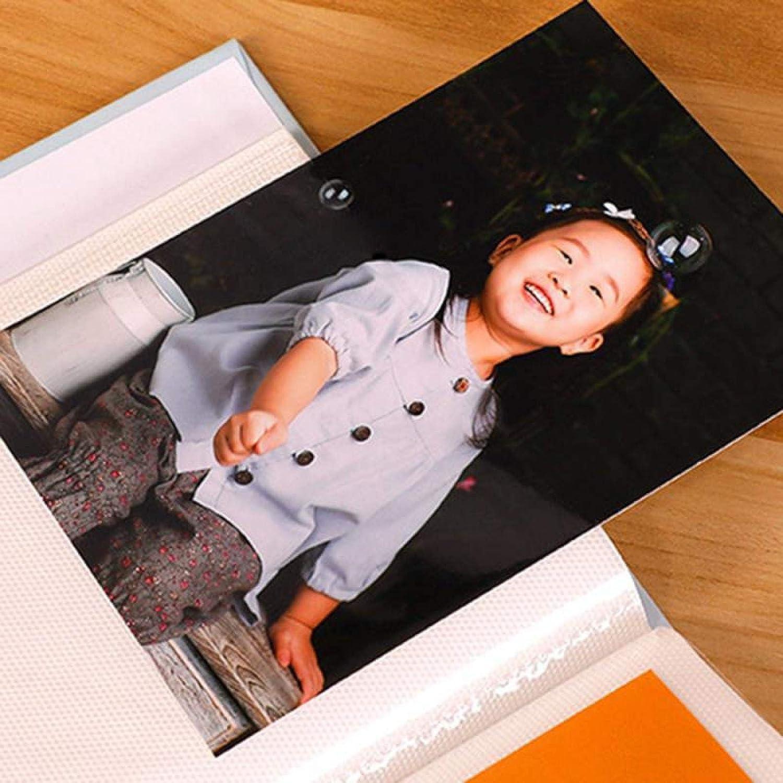 /Álbum de Fotos 4R 6 Photo Album 100 Fotos Caso de Almacenamiento Familia Boda Beb/é Libro de im/ágenes 5-Tipo de la Esquina de la Esquina Deguace de Papel Marco Imagen Caso 02