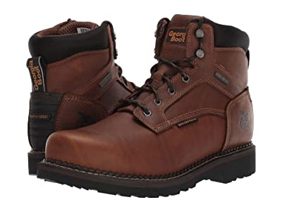 Georgia Boot ReVamp 6 Steel Toe Waterproof (Brown) Men