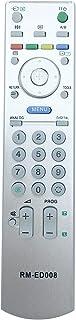 vinabty RM-ED008 RMED008 Vervangende Backup TV Afstandsbediening voor Sony KDL-32V2500 KDL-40S2510 KDL-40S2530 KDL-40V2900...