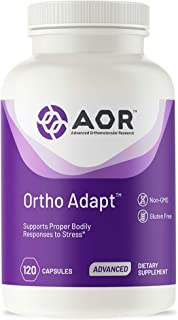 AOR - Ortho Adapt, Adrenal Support for Proper Response to Stress, Natural Adaptogenic Herbal Supplement, 120 Capsules (30 Servings)