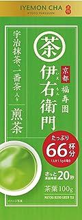 Ujinotsuyu Iemon Green Tea Leaves with Maccha 100G