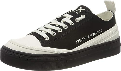 Armani exchange sneaker recycled cot, scarpe da ginnastica basse uomo XUX060XV218