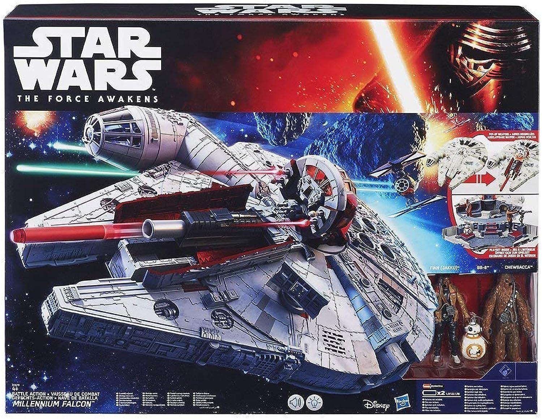 Hasbro Starwars Battle-Action Millenium Falcon B06XQ53PC2 Sonderkauf  | Guter weltweiter Ruf