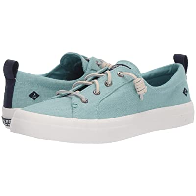 Sperry Crest Vibe Washed Linen (Mint) Women