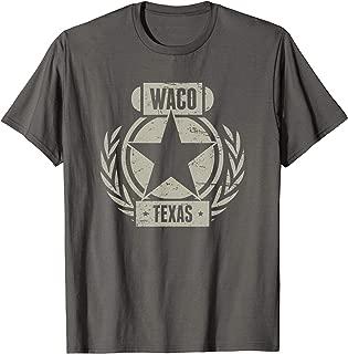 Waco Texas T-Shirt / Waco Resident Tshirt - Retro Distressed