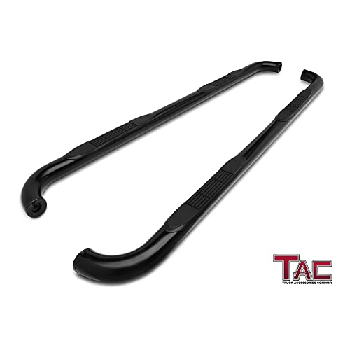 TAC Side Steps Fit 2015-2019 Chevy Colorado / GMC Canyon Crew Cab Truck Pickup