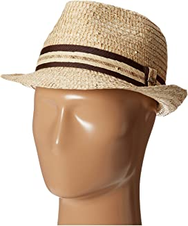 3d1a90390ddd54 Tommy Bahama Palm Fiber Gambler with 3 Pleat Cotton Band at Zappos.com