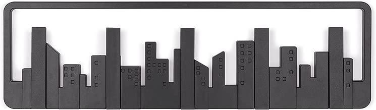 UMBRA SKYLINE HOOK 5er Garderobenleiste Hakenleiste Haken schwarz 318190-040