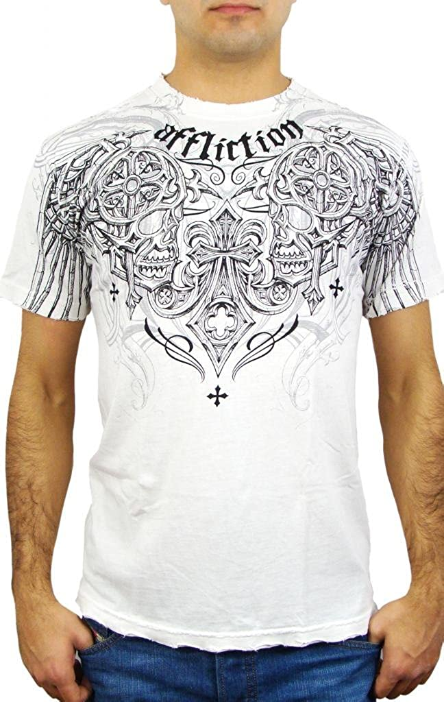 Affliction Men's Deadly S Pair 2021 Max 90% OFF new Tee