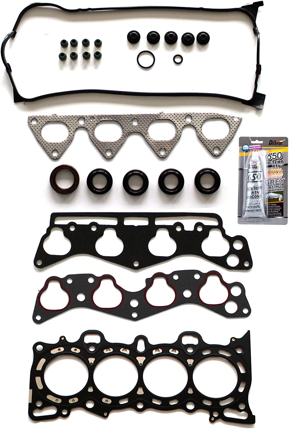 SCITOO Head Gasket Set Award Replacement for Civic Sol S Civ del Award-winning store Honda