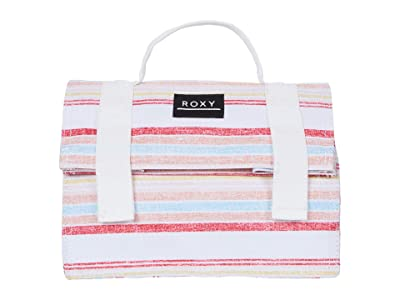 Roxy Coffee Time Lunch Bag (Bright White Bruel Stripes) Bags