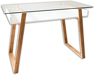 Best trestle desk glass top Reviews