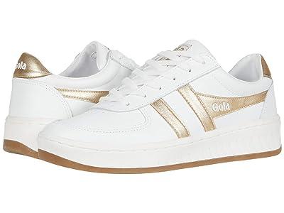 Gola Grandslam Leather (White/Gold) Women