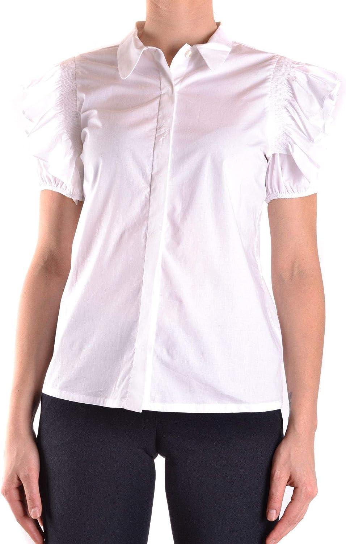 PINKO Women's MCBI31406 White Cotton Shirt