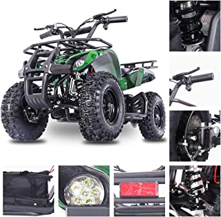 Fit Right 2020 Sonora Kids 24V Mini Quad ATV, Dirt Motor Electric Four Wheeler Parental Speed Control, With350W Motor Power Reserve, Large Tires & Wide Suspension