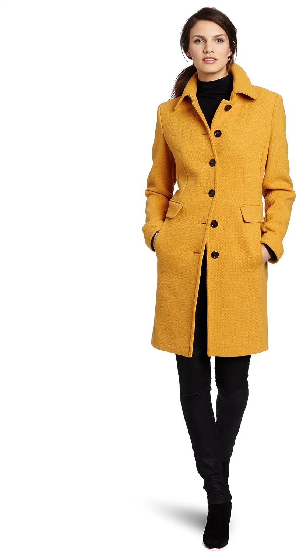 80s Red Wool Coat Fur Collar Coat Wool Dress Coat with Fur Lapel Oversized Wool Wrap Coat