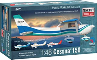 Minicraft Cessna 150 with Multiple Marking Options Model Kit, 1/48 Scale