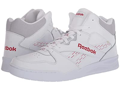Reebok Lifestyle Royal BB4500 Hi 2 (White/Legacy Red/Cold Grey 2) Men