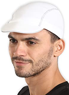 Cycling Cap Helmet Liner - Breathable Biking Cap with Reflective Brim