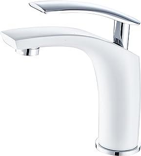 71y+oYQWNmL. AC UL320  - Grifos de lavabo blanco