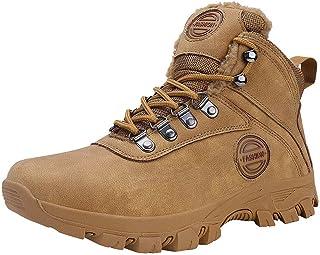 حذاء رجالي FOVSMO شتوي جليد مقاوم للماء دافئ معزول غير قابل للانزلاق ورحلات خارجية