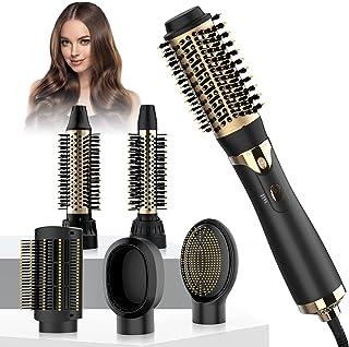 Najukyy Hot Air Brush 6 in 1 Detachable Hair Dryer Styler, One-Step Hair Dryer Brush for Straightening Curling Drying Comb...