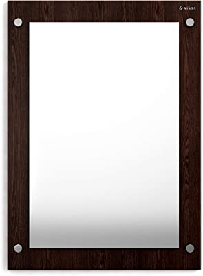 Anikaa Oliva Wall Mirrors/Wall Mounted Dressing Mirror (Wenge)