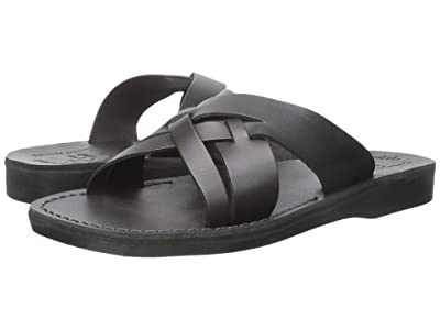 Jerusalem Sandals Jesse Mens (Black) Men