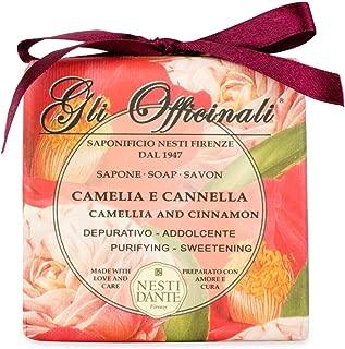Nesti Dante Camelia & Cinnamon Soap 250 g bar