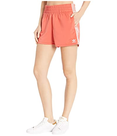 adidas Originals adiColor 3-Stripes Shorts (Trace Scarlet/White) Women
